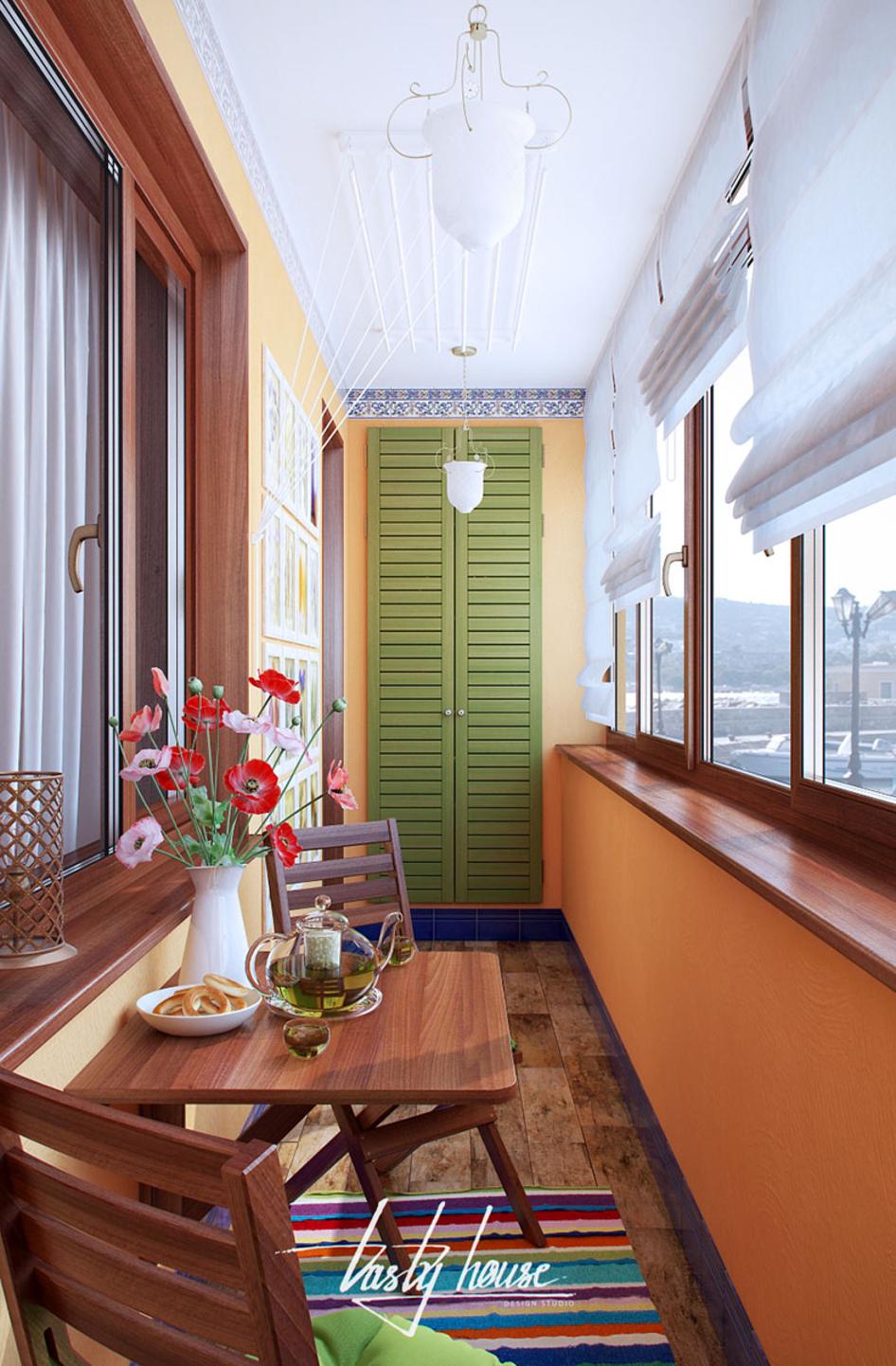 Tastyhouse: балкон.
