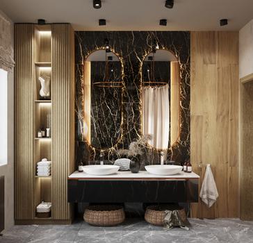 bathroom, Novosibirsk