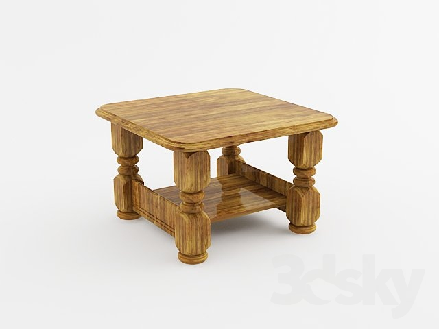 3d Models Table Coffee Table