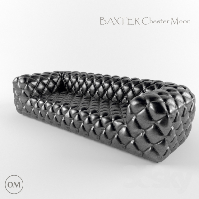 3d models sofa baxter chester moon