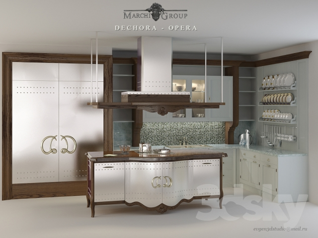 Marchi Group Cuisine 3d models: kitchen - marchi group/decora-opera