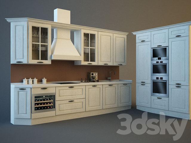 3d models: Kitchen - Veneta Cucine / Memory