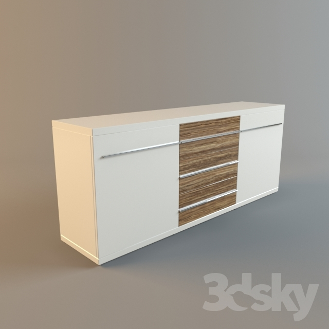 3d models sideboard chest of drawer musterring aterno. Black Bedroom Furniture Sets. Home Design Ideas