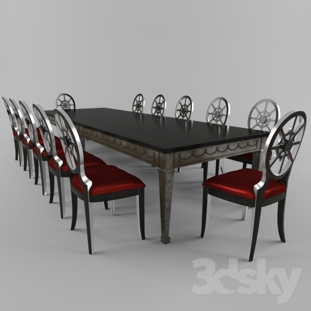 3d models Table Chair Table and chairs : 23037526b7e2abc193 from 3dsky.org size 640 x 640 jpeg 162kB