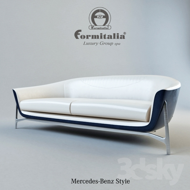 3d Models Sofa Fromitalia Mercedes Benz Style