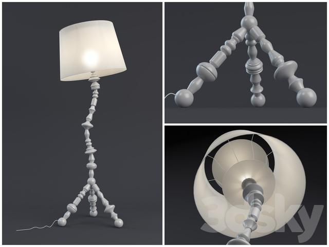 3d Models Floor Lamp Ikea Ps Svarva
