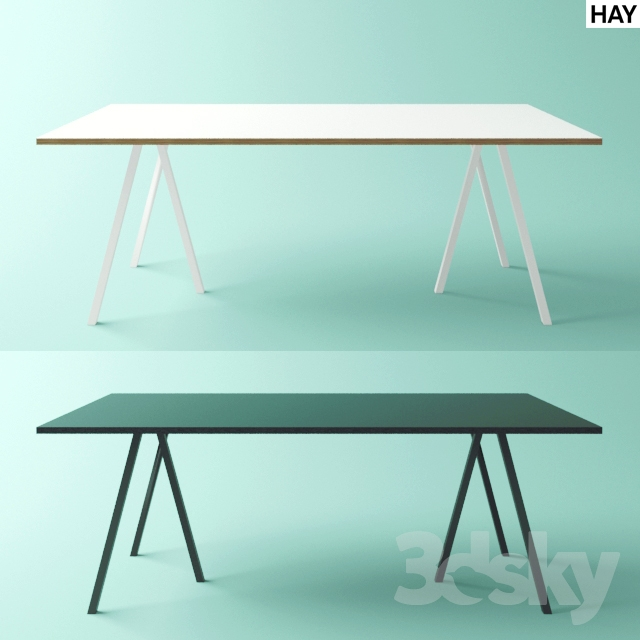 3d models table hay loop stand high table. Black Bedroom Furniture Sets. Home Design Ideas