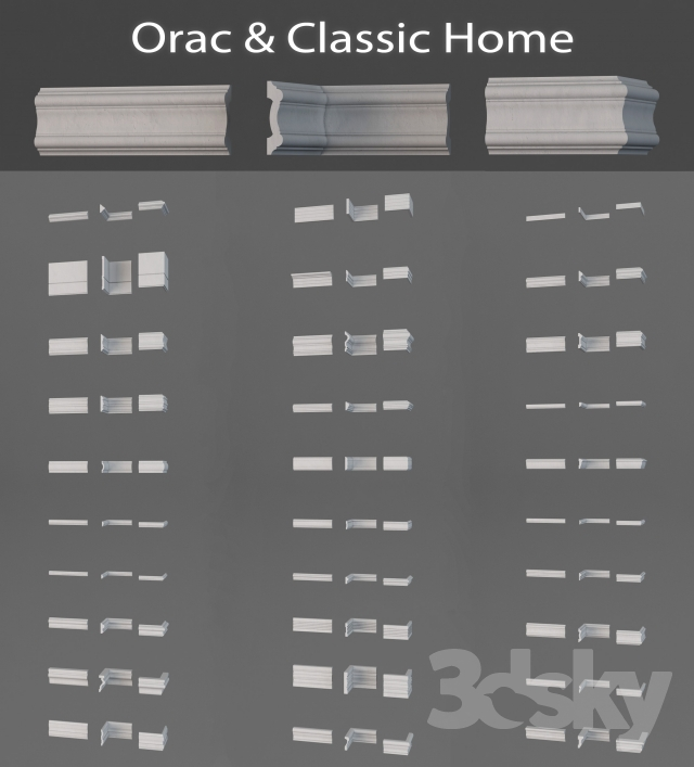 Orac moldings and Classic Home (Vol 1)