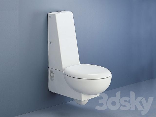 Ceramica Dolomite Wc.3d Models Toilet And Bidet Toilet Ceramica Dolomite Wc