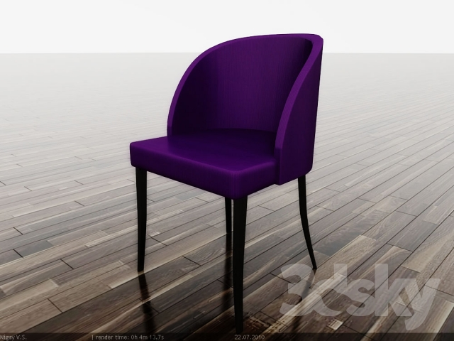 Chair of Art Deco, with catalog
