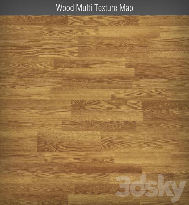 Wood Multi Texture Map Parquet