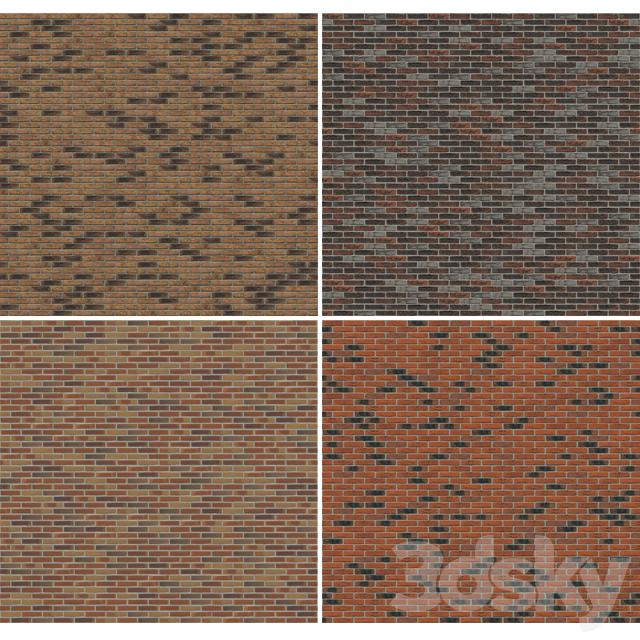 Brick. Seamless texture. Part4.