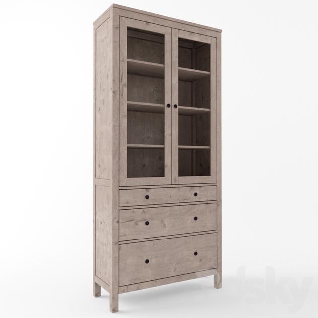 3d models wardrobe display cabinets ikea hemnes wardrobe showcase