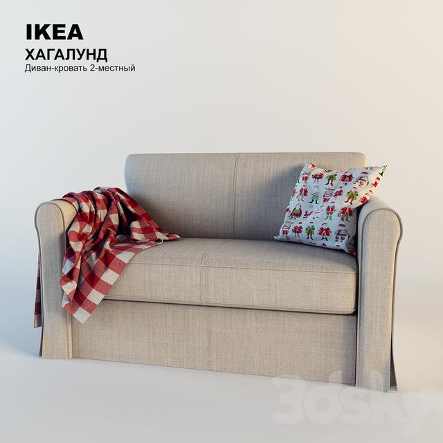 3d models Sofa IKEA Hagalund