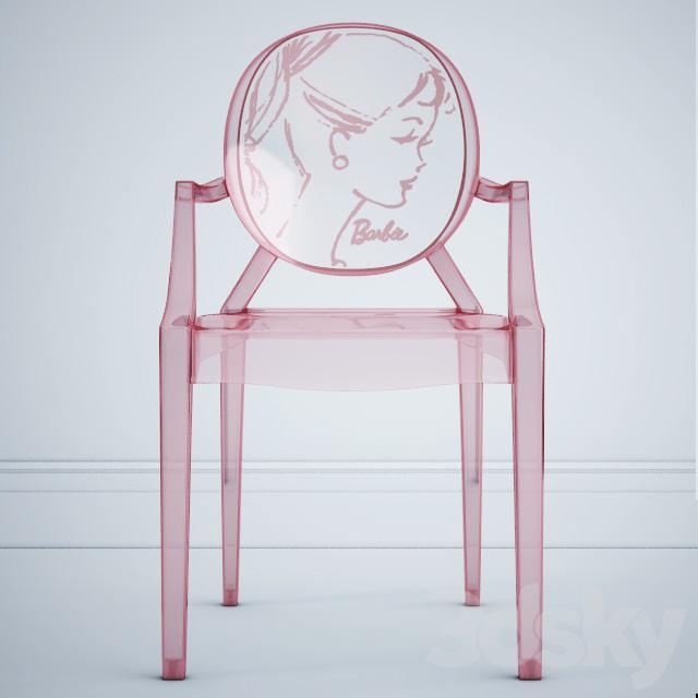 Barbie Louis Ghost Chair