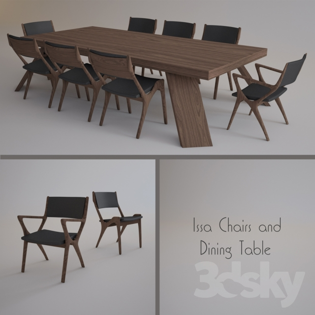 Ordinaire Issa Chairs And Dining Table