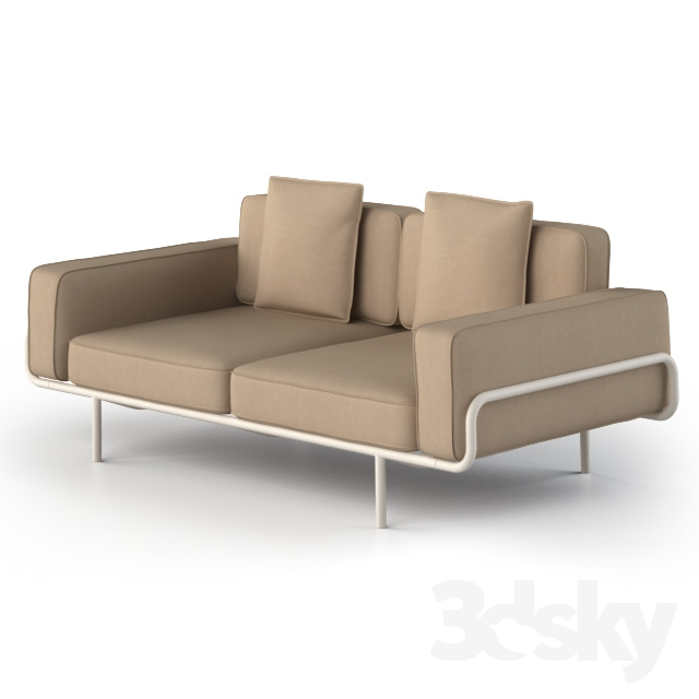 3d models sofa ikea ps 2012. Black Bedroom Furniture Sets. Home Design Ideas