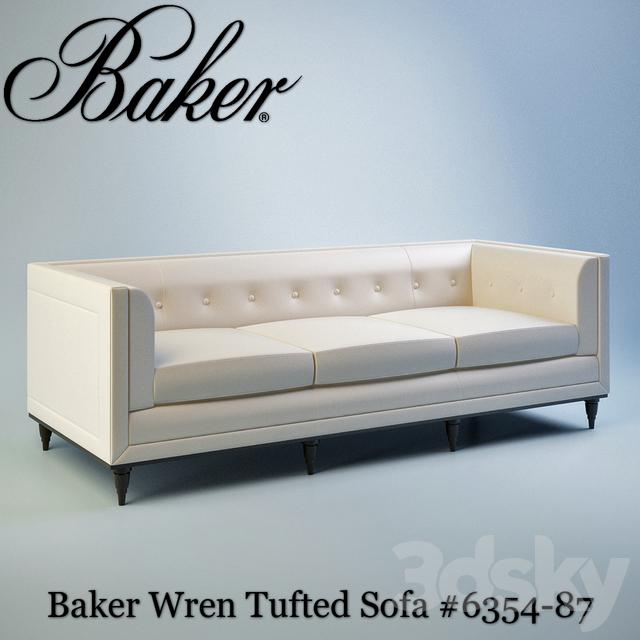 Baker Wren Tufted Sofa # 6354-87