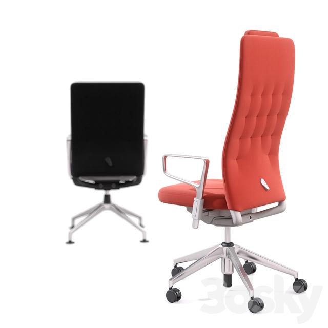 3d models office furniture office chair vitra id trim. Black Bedroom Furniture Sets. Home Design Ideas