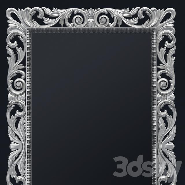 3d models: Mirror - Classic Mirror Frame