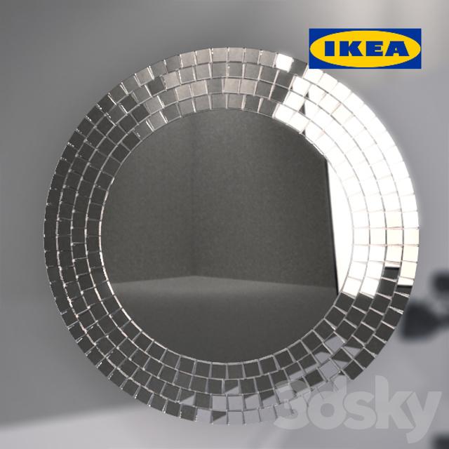 3d models mirror mirror ikea tranbi for Ikea article number