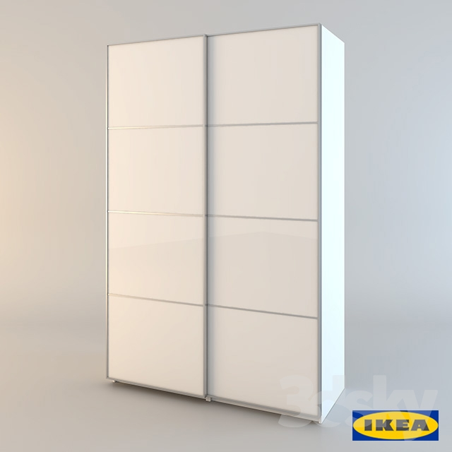3d models wardrobe display cabinets ikea pax pax. Black Bedroom Furniture Sets. Home Design Ideas