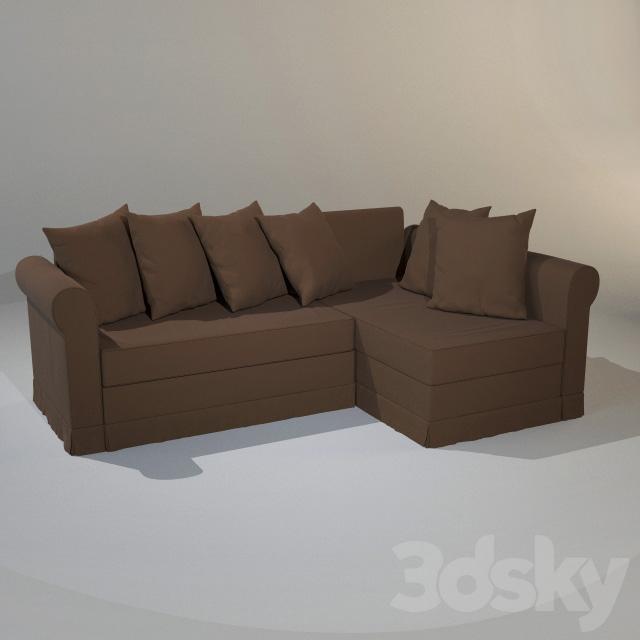 3d models sofa ikea moheda sofa bed for Sofa bed 3d model