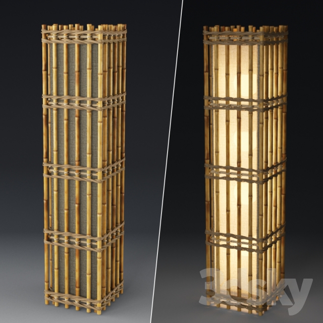3d models floor lamp rattan floor lamp rattan floor lamp mozeypictures Choice Image