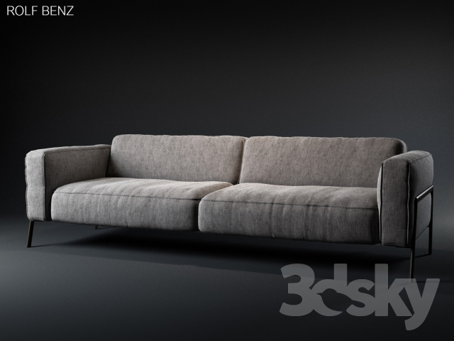 3d models sofa rolf benz bacio sofa. Black Bedroom Furniture Sets. Home Design Ideas
