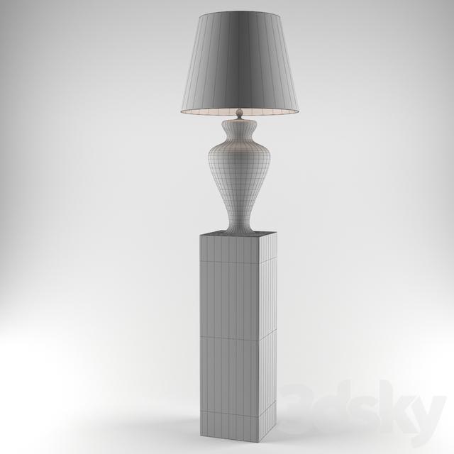 3d models Floor lamp Roche Bobois Icone