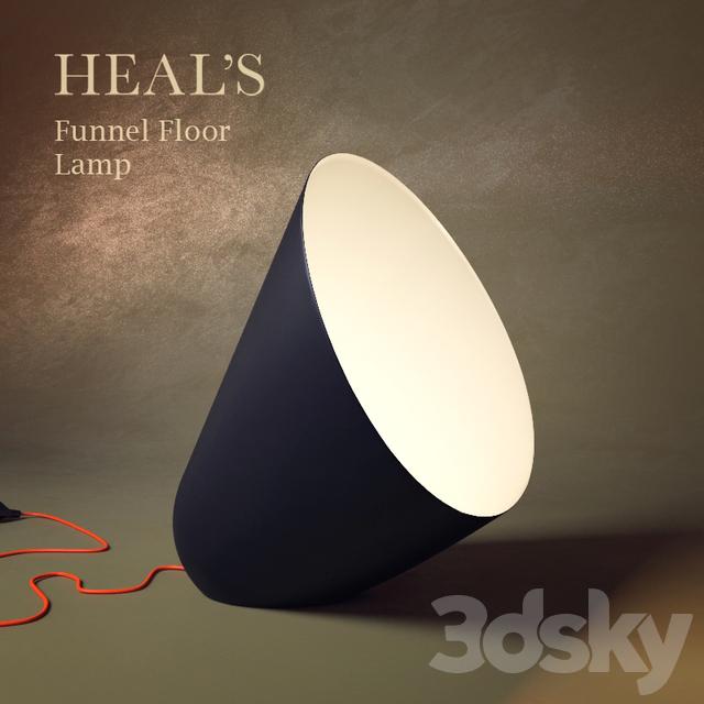 Heal's Funnel Floor Lamp