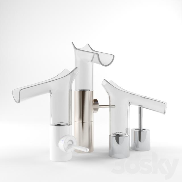 3d models: Faucet - Mixer Axor Starck V (Philippe Starck)
