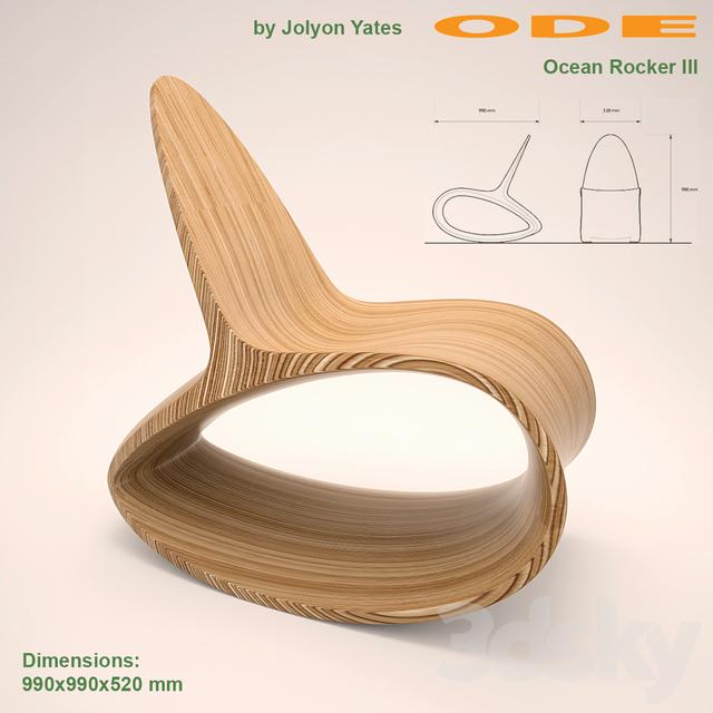 ODEChair Ocean-Rocker III by Jolyon Yates