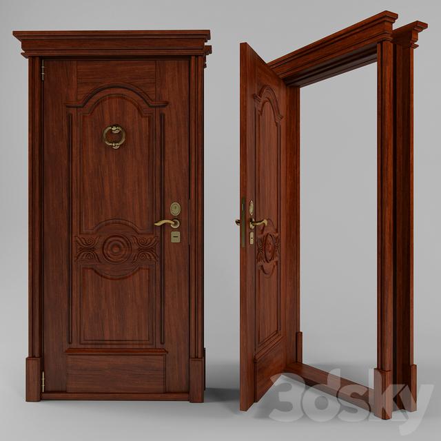 двери входные классические