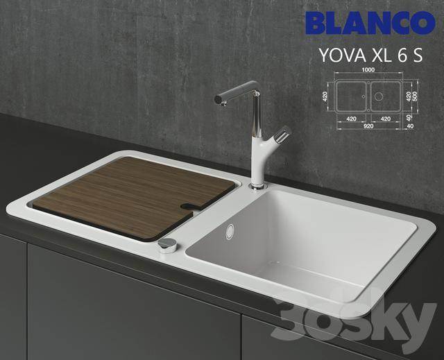 Sink Tap Modell : D models sink blanco yova xl s