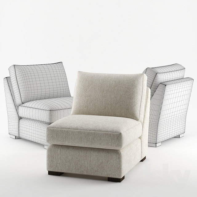 Crate U0026 Barrel / Axis Armless Chair