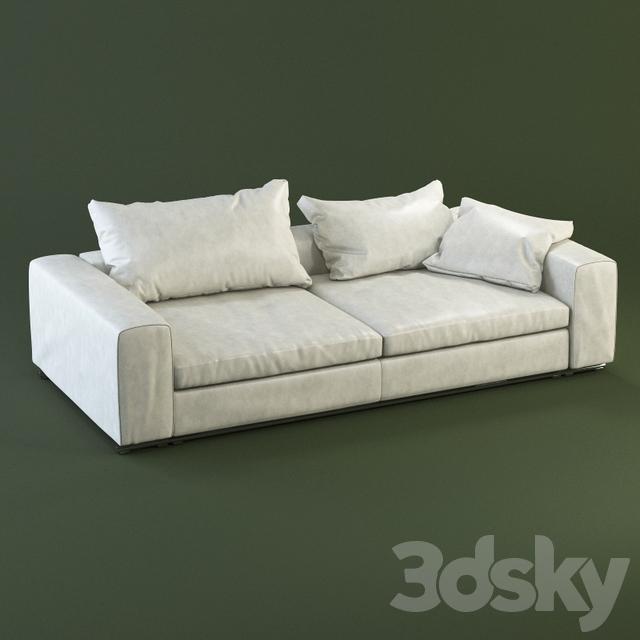 Flexform Groundpiece Sofa 2 Seater