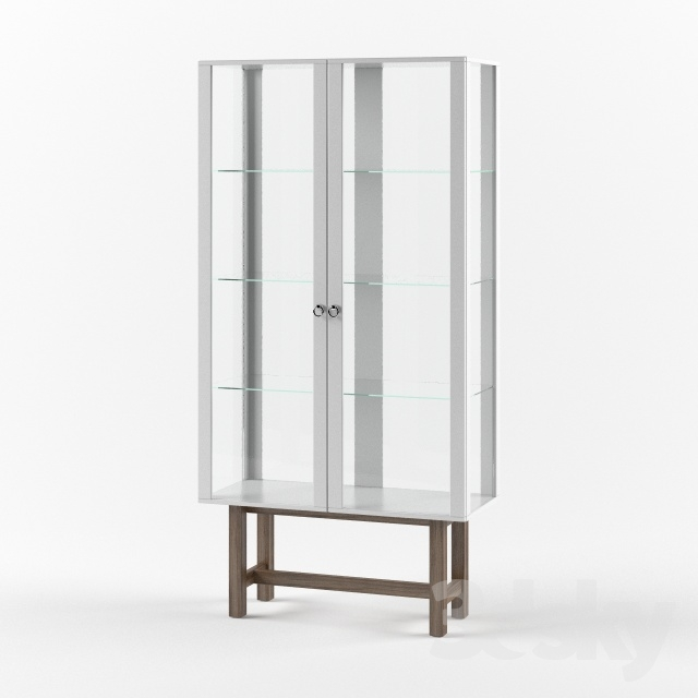 3d Models Wardrobe Display Cabinets Stockholm Cabinet With