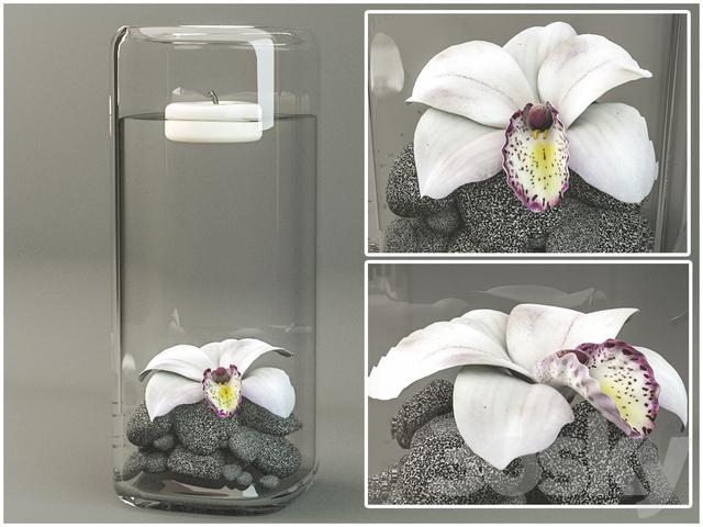 Ваза цветок орхидеи