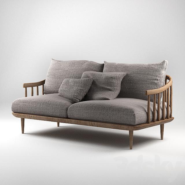 3d models sofa fly sc2 tradition space copenhagen. Black Bedroom Furniture Sets. Home Design Ideas