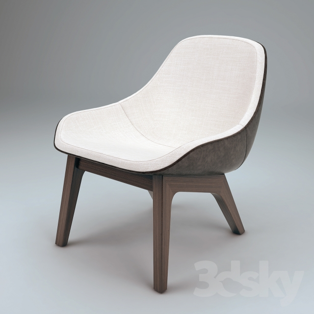 3d Models Arm Chair Zeitraum Ztr Morph Lounge Chair