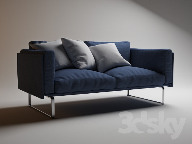 3d models sofa cassina 202 05 for Sofa 8 cassina