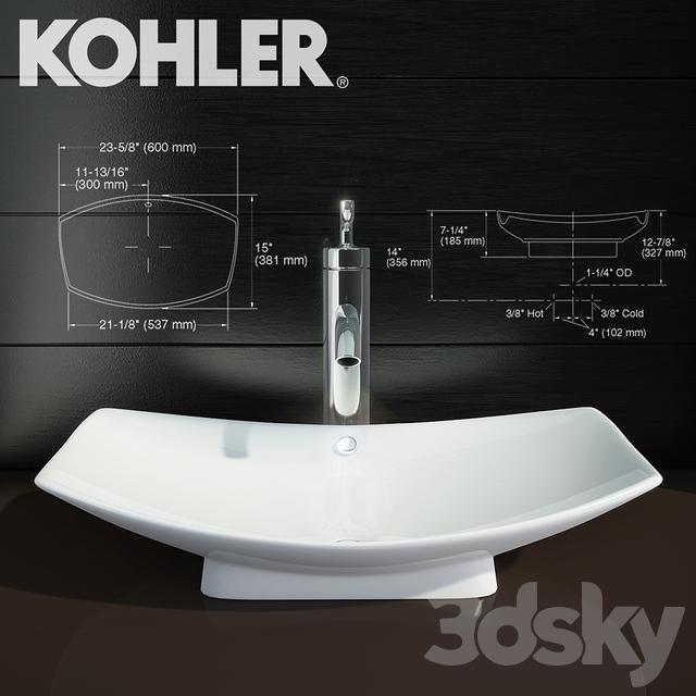3d Models Wash Basin