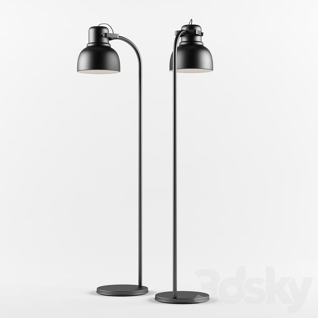 3d models floor lamp floor lamp ikea hektar floor lamp ikea hektar aloadofball Images
