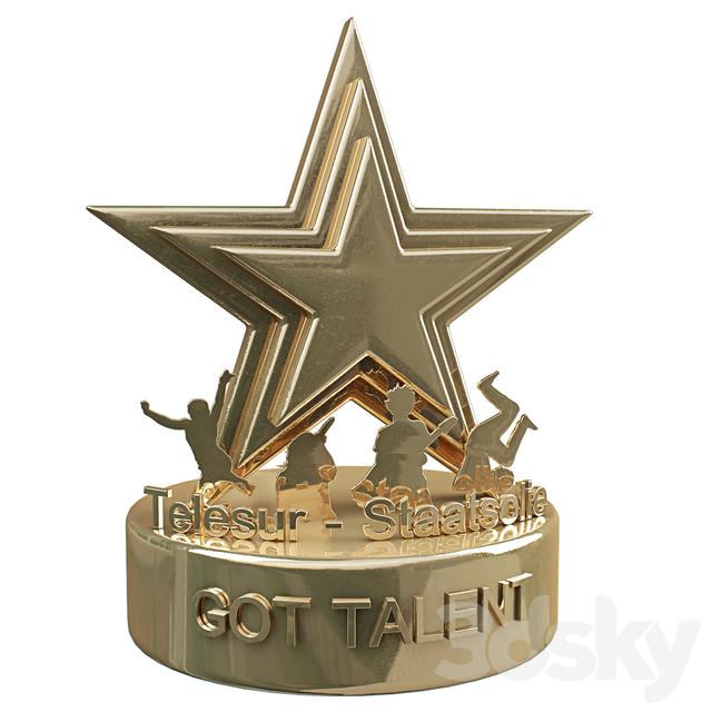 3d Models Other Decorative Objects Got Talent Award