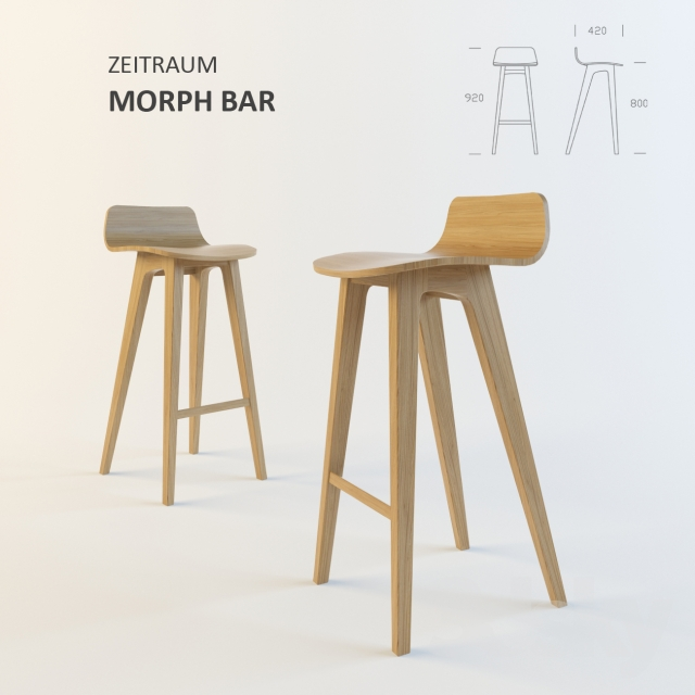 new concept 135d1 62ba7 3d models: Chair - Zeitraum Möbel / MORPH BAR