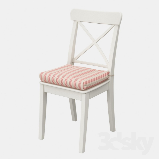 Merveilleux Ikea Ingolf Chair With A Pillow Ulla May