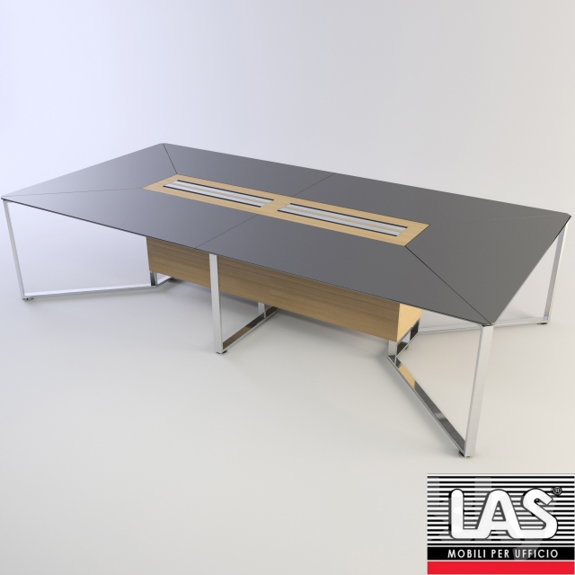 3d models: Office furniture - LAS Mobili I-Meet