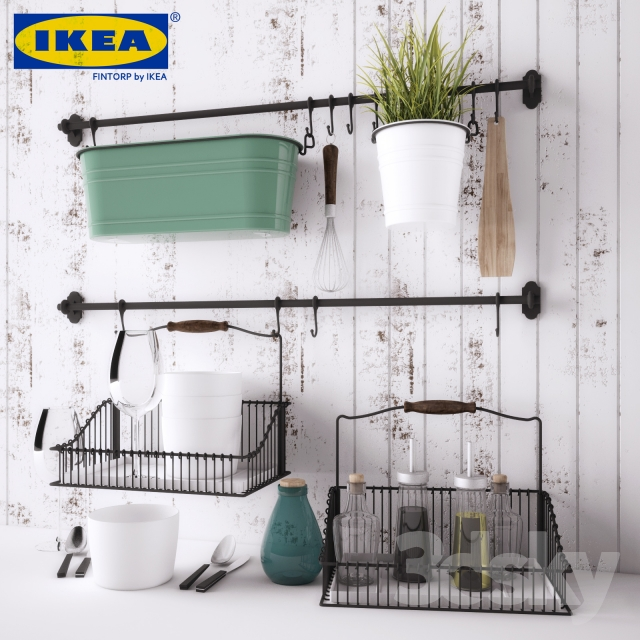 3d models: Other kitchen accessories - IKEA FINTORP