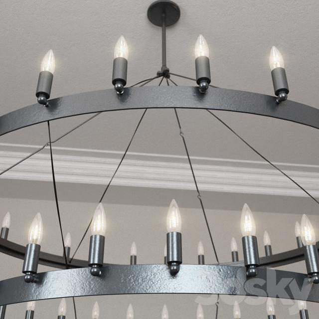Models Ceiling Light Restoration Hardware Camino Two